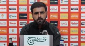 El Sporting recibe la visita del Albacete. Captura/YouTube/RealSportindeGijón