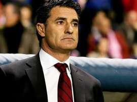 El entrenador español Miguel González, 'Míchel'. Twitter