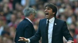 Conte n'a pas apprécié les mots du capitaine de Madrid. AFP