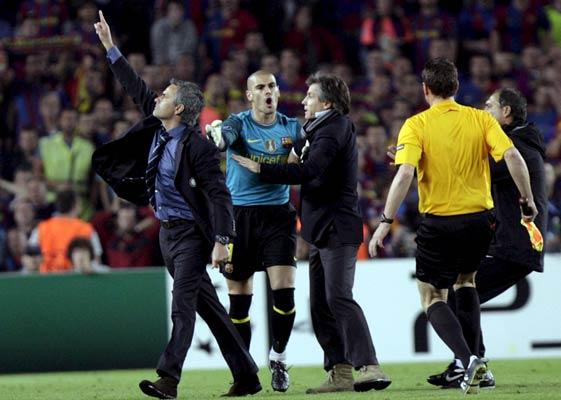 Mourinho conquistó el Camp Nou con el Inter. EFE