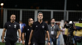 Avaí anunció el cese de Rodrigo Santana. Twitter/Atletico