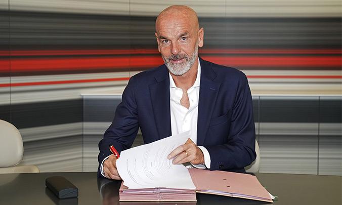 Stefano Pioli, nuevo entrenador del Milan. ACMilan