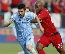 El delantero español vuelve a mojar con el New York City. Newyorkcity.com