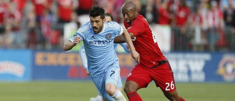 El delantero español volvió a marcar en la MLS. Newyorkcity.com