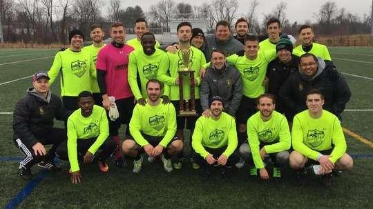 Los componentes del equipo practican fútbol por divertimento. ChristosFC/Twitter