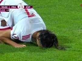 España tuvo una gran ocasión para empatar. Eurosport
