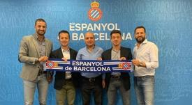 El Espanyol abre un nuevo centro de formación en Argelia. RCDEspanyol