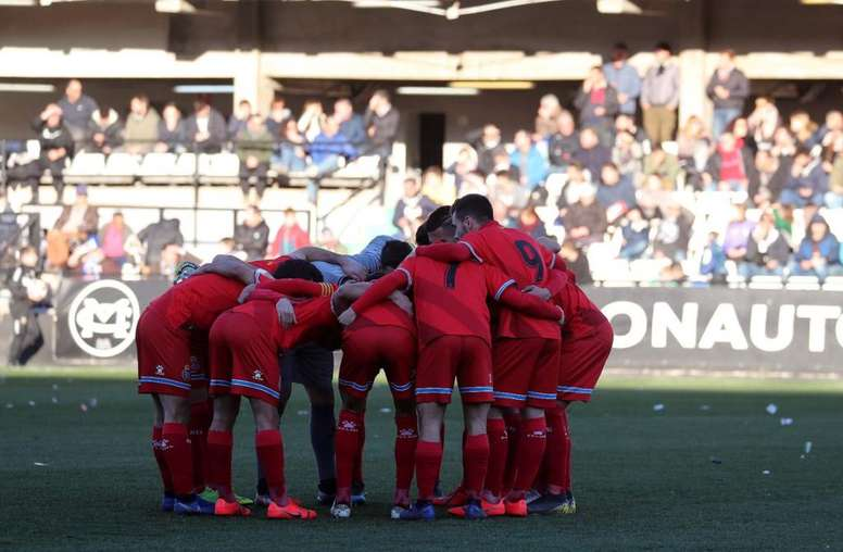 El Espanyol gana en Castellón. Twitter/RCDEspanyolFF