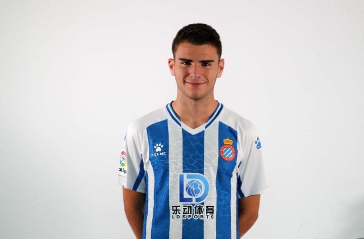 El Espanyol hizo oficial el traspaso de Álvaro Martí al Lecce. RCDEspanyol