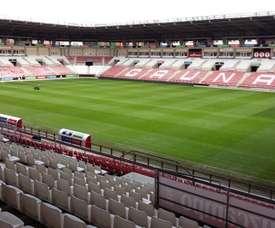Un estadio con solera. UDLogroñes