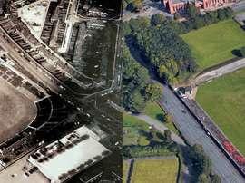Entre estas dos imágenes han pasado unos 50 años. DavidPendleton/Google