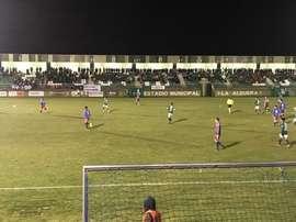 El partido acabó 0-0. CDToledo