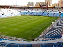 La Romareda acogerá el partido del Ebro de Copa. RealZaragoza