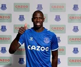 Doucouré à Everton. AFP