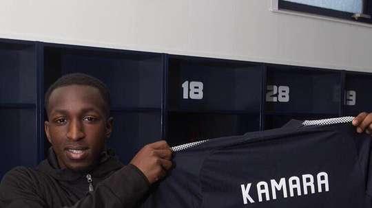 Kamara could be moving to the League One club soon. GlanKamara