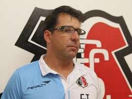 El ex entrenador del Santa Cruz de Recife, Marcelo Martelotte. SantaCruzPe
