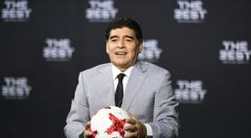 Ex-médico de Maradona voltou a falar sobre o camisa 10. EFE