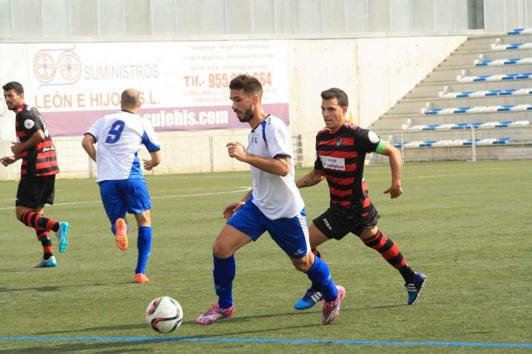 Juan Guerra se desvinculó del CD Alcalá para fichar por el Ejea. ClubDeportivoAlcala
