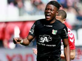 Anthony Limbombe is attracting much Premier League interest. NEC-Nijmegen