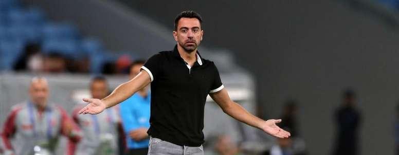 El Al Sadd de Xavi ha caído 1-4 en semis de la Champions asiática. Twitter/AlsaddSC