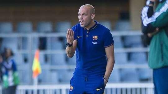 El técnico es el actual entrenador del Juvenil A. FCBarcelona