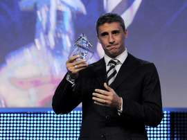 Hernan Crespo let go by club in first managerial role. foto-net/Kurt Schorrer