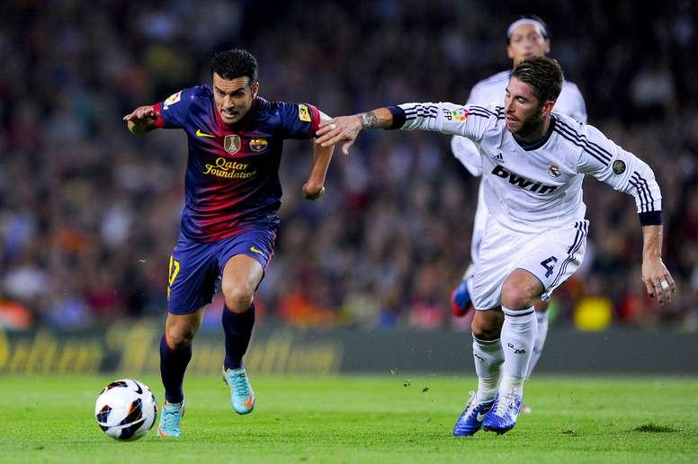 Pedro recordó su tiempo en el Barcelona y alabó a Piqué y Puyol. FCBarcelona