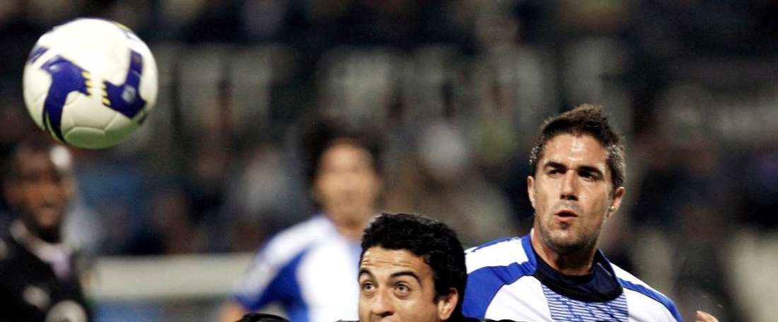 Marcos Aguirre es un viejo conocido del fútbol español. EFE/Archivo
