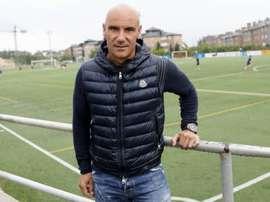 Movilla abandonó el club salmantino. EFE