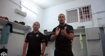 Nino, segundo entrenador del Elche Ilicitano. Twitter/elchecf