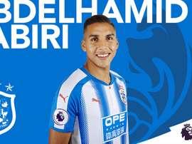 Nuremberg's Abdelhamid Sabiri has signed for Huddersfield Town. HuddersfieldTown
