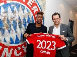 O francês de 21 anos já soma 24 presenças nesta temporada. FCBayern