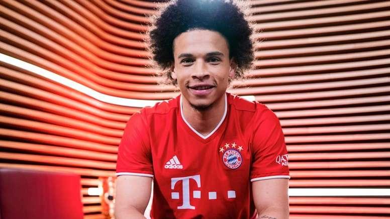 Bayern anuncia a chegada de Leroy Sané. FCBayern