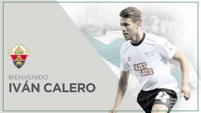 Iván Calero, nuevo jugador del Elche. ElcheCF