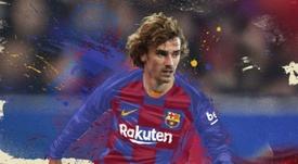 Griezmann é jogador do Barcelona. FCBarcelona