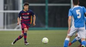 Lucas de Vega firmó hasta 2022. FCBMasia