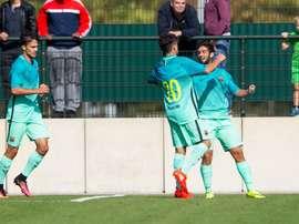 El Barcelona es, junto al Madrid, uno de los cuatro semifinalistas de la Youth League. FCB