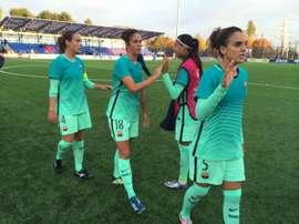 Buena victoria en Bielorrusia. FCBarcelona