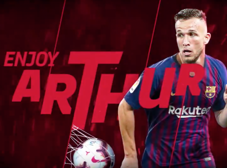 Arthur is a Barcelona player. FCBarcelona