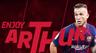 OFFICIAL: Barcelona tie up Arthur deal