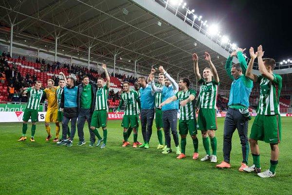El Ferencvárosi gana la Liga Húngara. NB1HU