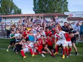 El CD Vitoria pasó por el gol fuera de casa ante el Astorga. CDVitoria