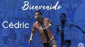 Cedric firma para la próxima temporada. Twitter/CFuenlabradaSAD