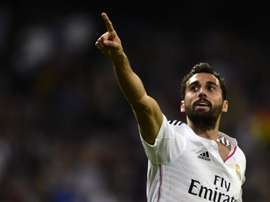 Arbeloa during a Real Madrid match. AFP