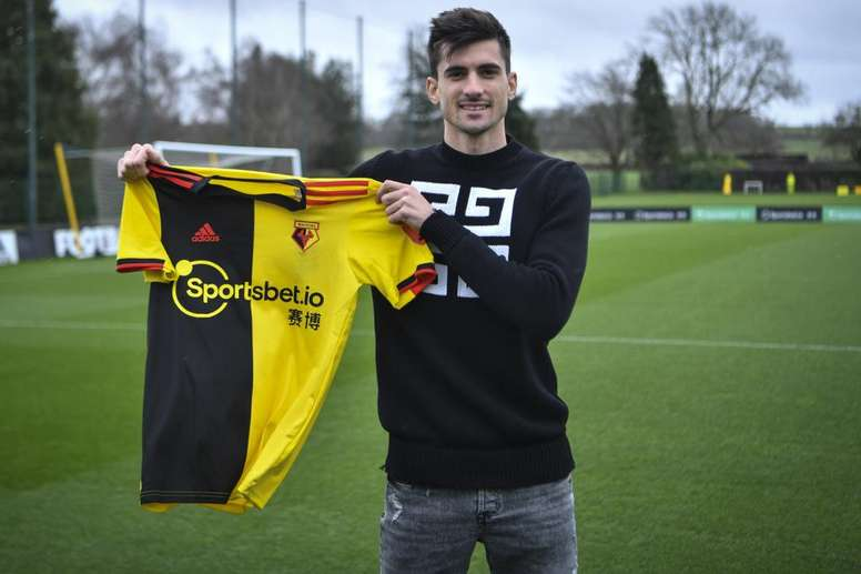 Pusetto jugará esta temporada y cuatro más en el Watford. WatfordFC