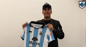 Nahuel Zárate volvió a los terrenos de juego hace tres meses. Twitter/OficialGyEJujuy