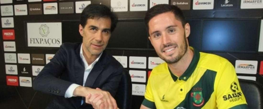 McGowan se ha convertido en nuevo jugador del Paços. FCPF