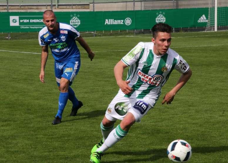 El futuro de la Selección Mexicana podría estar en Austria. SKRapid