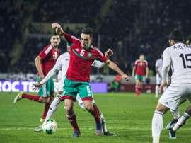 El centrocampista será elprimer fichaje del Málaga. Twitter/BBoulahroud
