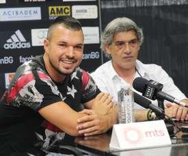 Valeri Bojinov nunca pudo llegar al nivel que se esperaba de él. Partizan